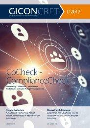 GICONcret - Zeitung der GICON-Gruppe | Ausgabe 2017 / 1