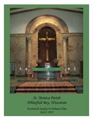 St. Monica Parish Whitefish Bay, Wisconsin - St. Monica's Parish