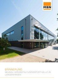 Schul- und Veranstaltungshalle in Langenhagen