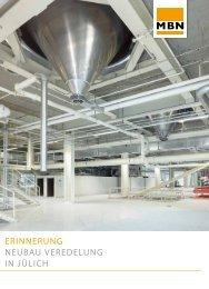 Neubau Veredelung in Jülich