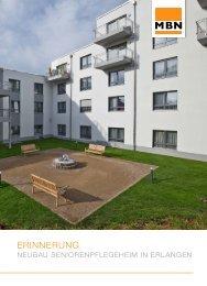 Neubau Seniorenpflegeheim in Erlangen