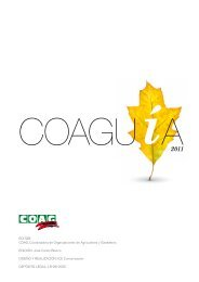 consejería de agricultura y medio ambiente - Coag
