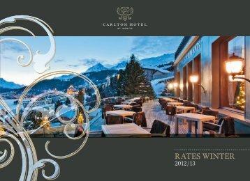 rates Winter - Carlton Hotel