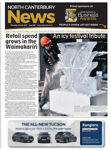 North Canterbury News: July 29, 2021