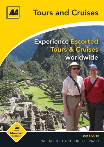Experience Escorted Tours & Cruises worldwide