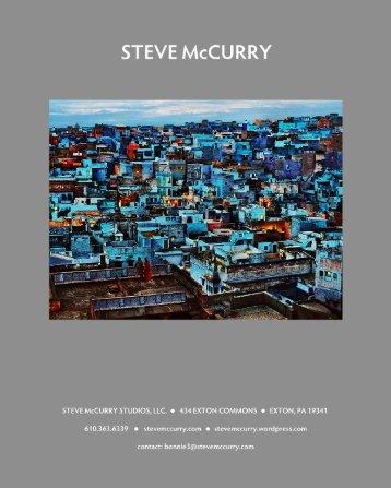 Download Press Kit - Steve McCurry