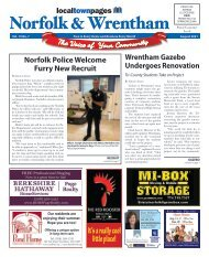 Norfolk & Wrentham August 2021