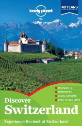 Discover Switzerland - Lonely Planet