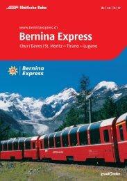 Bernina Express - Rhätische Bahn