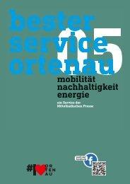 Mittelbadische Presse - Bester Service Ortenau:  Mobilität, Nachhaltigkeit, Energie