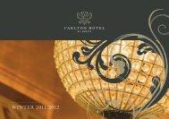 winter 2011/2012 - Carlton Hotel St. Moritz