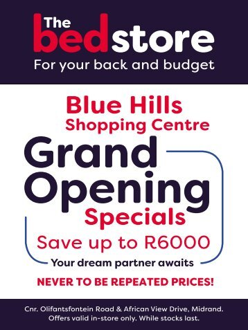 Blue Hills Store Opening