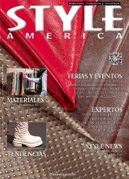 STYLE AMERICA Materiales, Tendencias y Tecnología #25