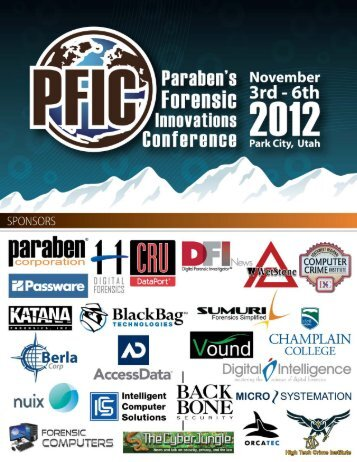 Download - PFIC - Paraben's Forensic Innovations Conference