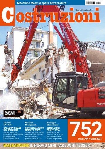 Costruzioni n. 752 luglio 2021