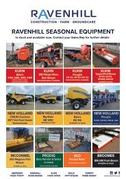 Ravenhill Monthly Featured Machines A4 August 2021