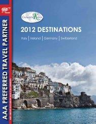 2012 DESTINATIONS - Continental Kapers