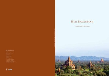 INCREDIBLE JOURNEYS - Red Savannah