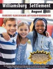 Williamsburg Settlement August 2021