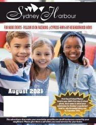 Sydney Harbour August 2021