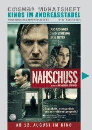Cinemag   Kinoprogramm in Regensburg   08-2021