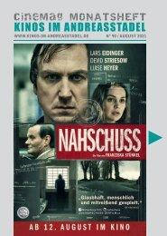 Cinemag | Kinoprogramm in Regensburg | 08-2021