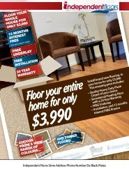 Floor your entire home for only $3990 - Delta Carpets and Vinyls