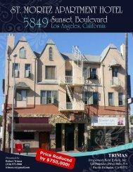ST. MORITZ APARTMENT HOTEL - Property Line