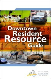 Resident - The Pittsburgh Downtown Partnership