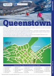 Queenstown Map & Accommodation Guide - Ski Max Direct