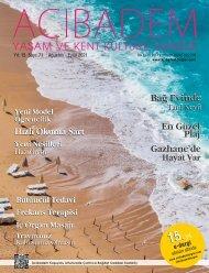 Sayı:71 ACIBADEM Yaşam ve Kent Kültürü Dergisi