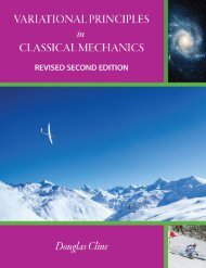 Variational Principles in Classical Mechanics - Revised Second Edition, 2019