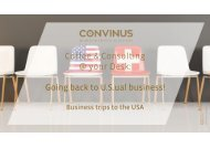 Coffee & Consulting - Going back to U.S.ual business