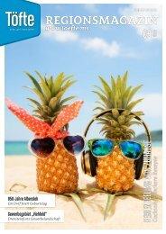 Töfte Regionsmagazin 08/2021 - So schmeckt der Sommer