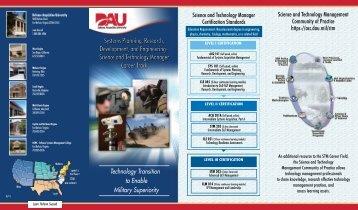 SPRDE STM Career Track - Defense Acquisition University