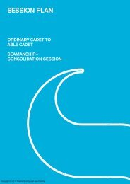 SESSION PLAN - The Sea Cadets