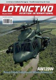 E-wydanie Lotnictwo Aviation International 8/2021