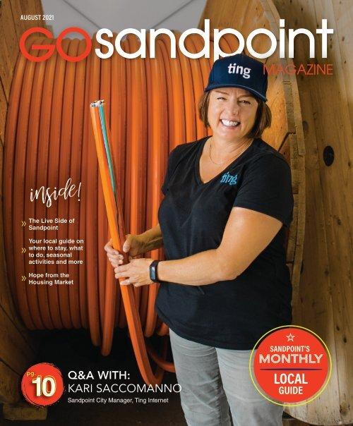 August 2021 GO Sandpoint Magazine