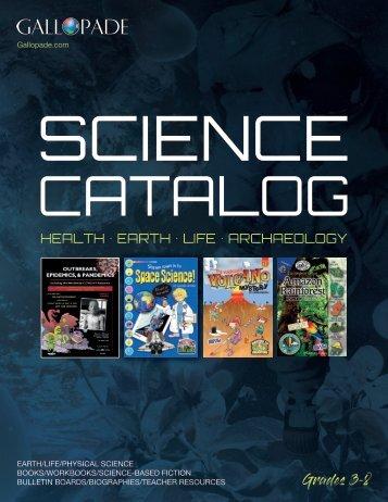 Gallopade Science Catalog