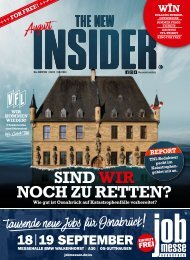 THE NEW INSIDER No. XVII, August 2021 #457