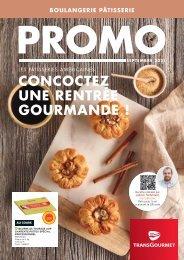 Promo Boulangerie-Pâtisserie - Septembre 2021