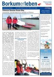 04.08.2021 / Borkumerleben - Die wöchentliche Inselzeitung