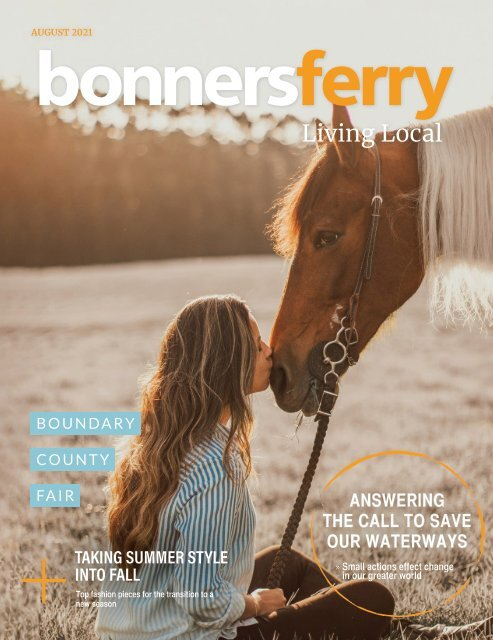 August 2021 Bonners Ferry Living Local