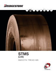 SMOOTH TREAD-MS - Bridgestone Firestone Off Road Tire Company