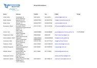 Wirtschaftsmediatoren Name Adresse Telefon Fax E-Mail Handy ...