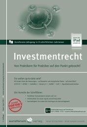 Investmentrecht - IIR Deutschland GmbH