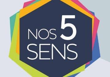 nos 5 sens - exposition itinérante