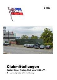 Ausgabe 3/2011 - ekrc.de | Erster Kieler Ruder-Club von 1862