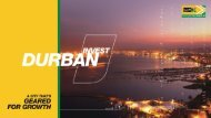 Invest Durban - Ethekwini Major Projects and Growth Nodes