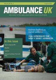 Ambulance UK August 2021